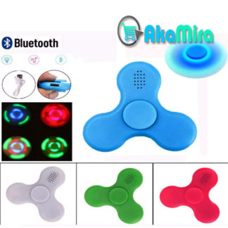 Spinner-Bluetooth-Parlante-Luz-Led-Fidget